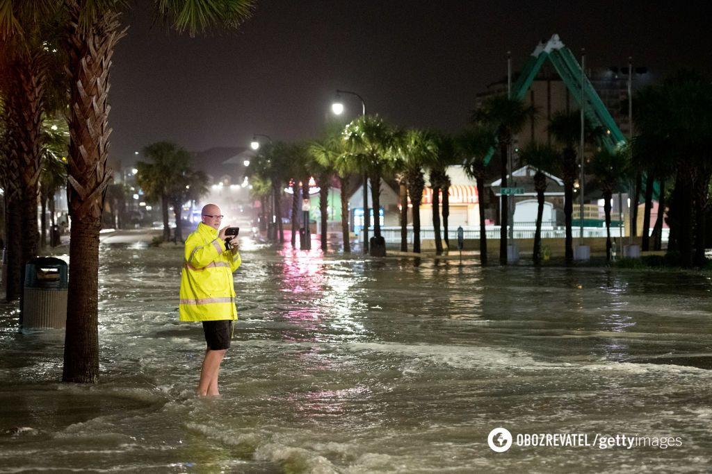 Наводнение после урагана