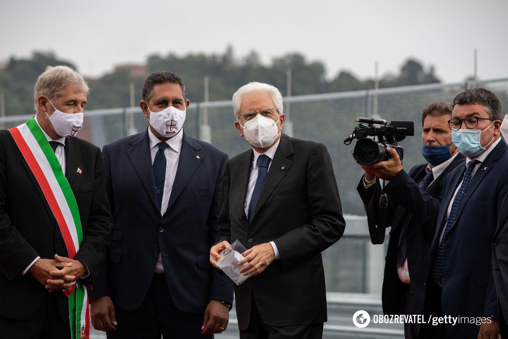 """В Генуе открыли мост """"Сан-Джорджио"""""""