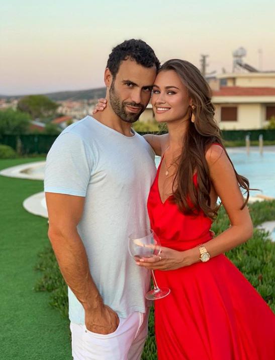 Дарья Кирилюк со своим парнем