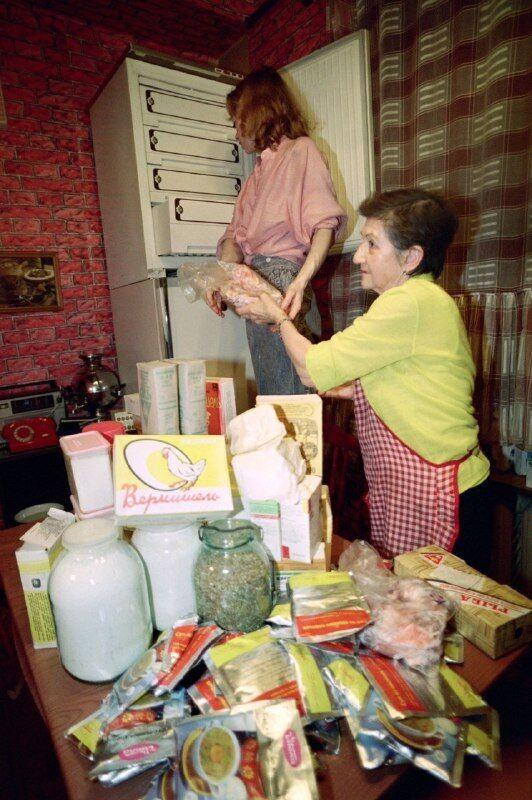 Запаси дефіцитних товарів в СРСР