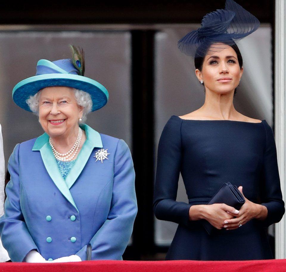 У мережі поширюють чутки, що Єлизавета не пробачила Маркл вихід з королівської сім'ї