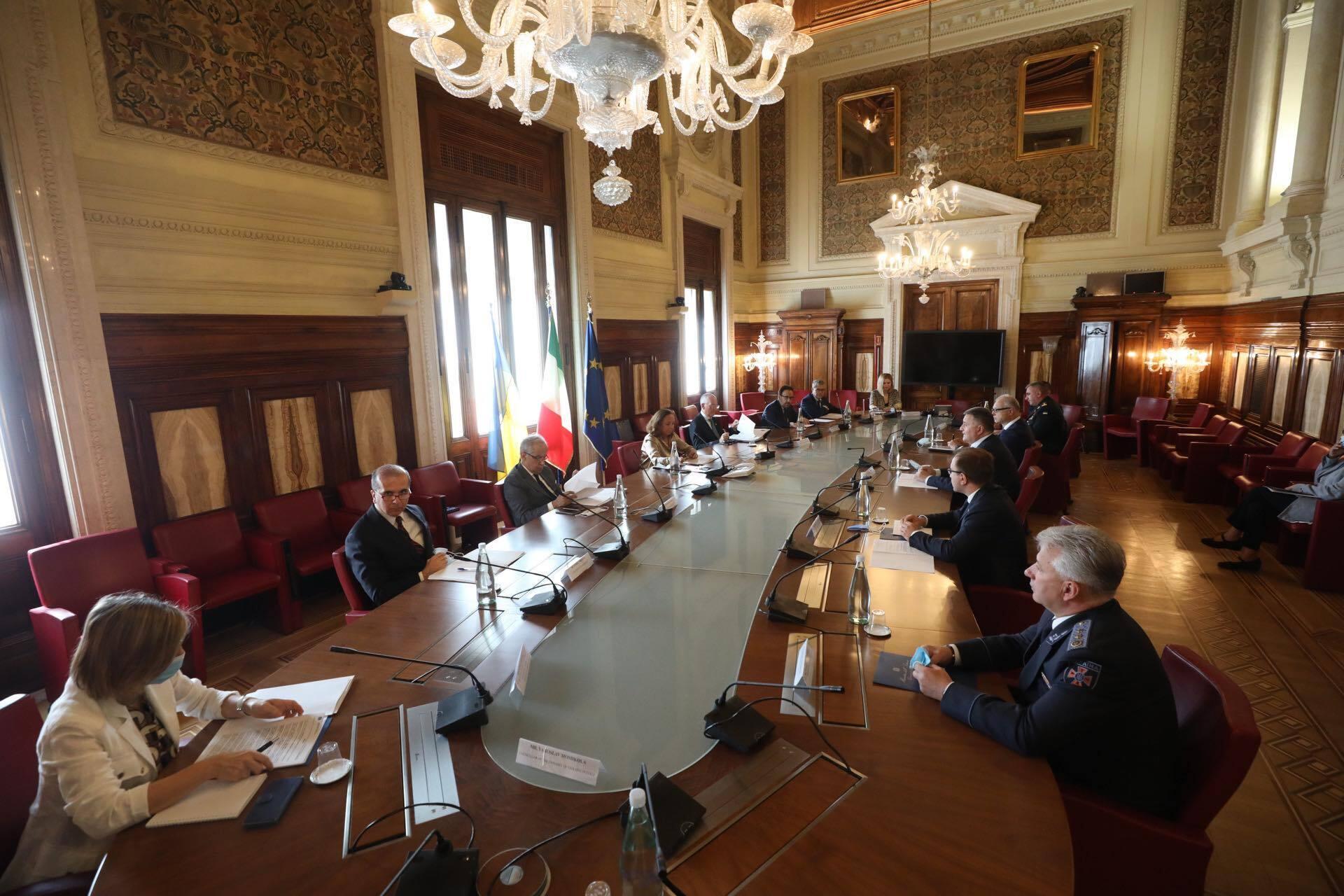 Зустріч представників МВС України та Італії.