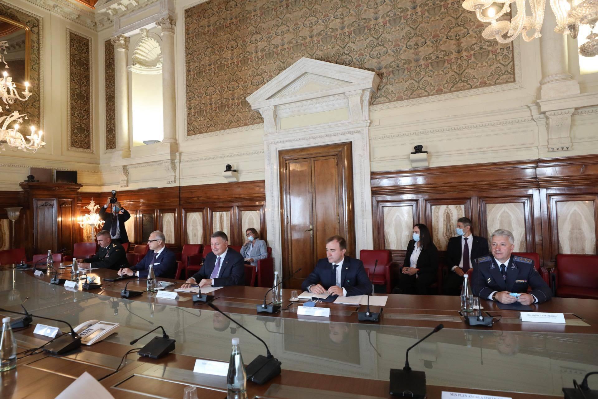 Зустріч представників МВС України й Італії.