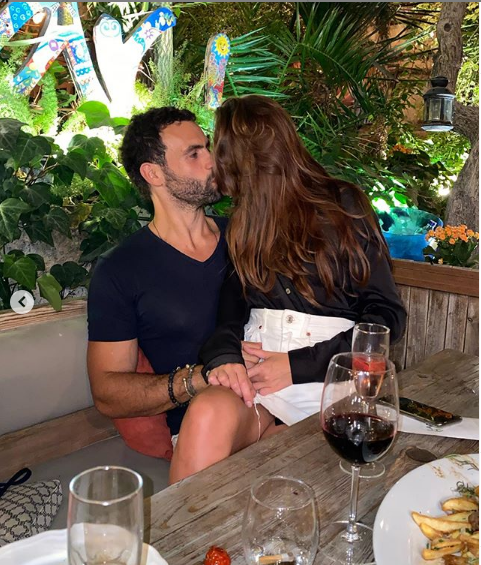 Дарья Кирилюк со своим парнем якобы после избиения