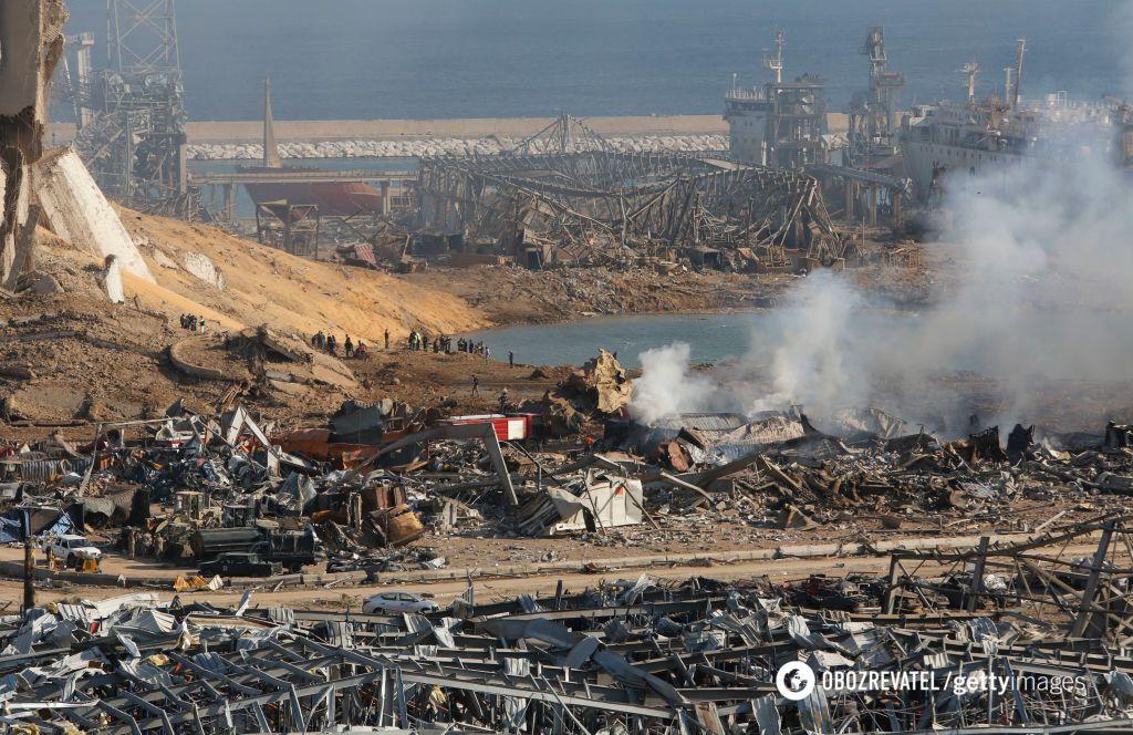 Взрыв в порту