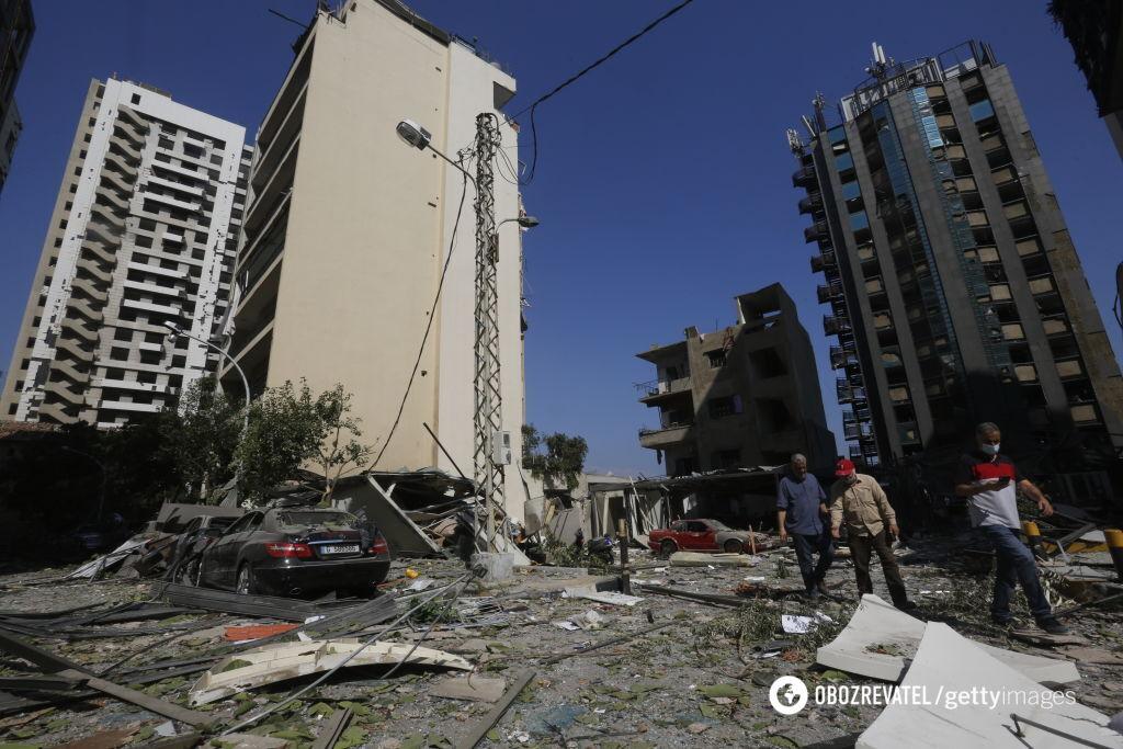 Дома после взрыва
