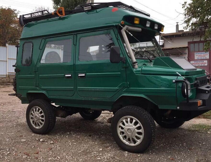 Кузов ЛуАЗ-969 стал намного практичнее.