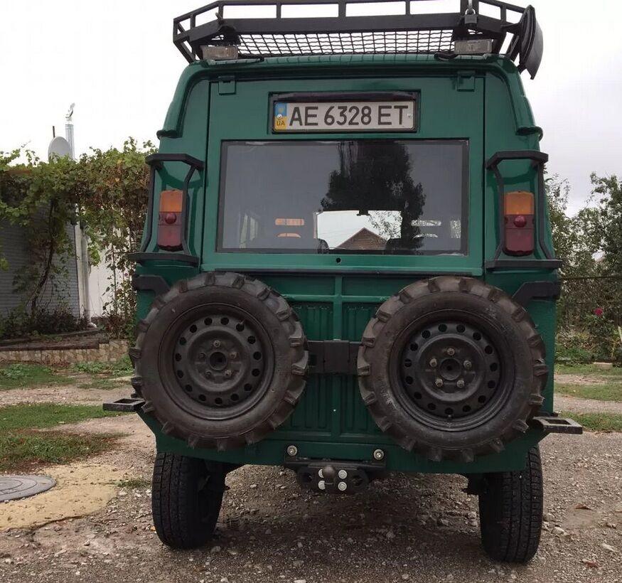 Внедорожник ЛуАЗ-969 стал выше.