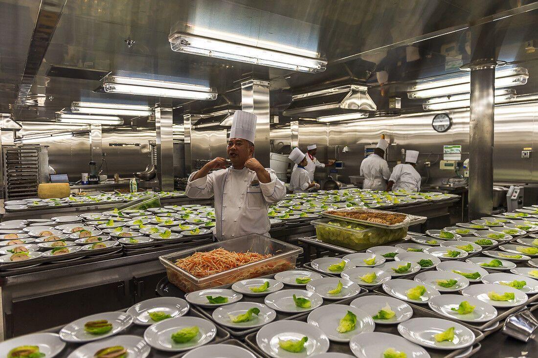 Кухарі намагаються створювати кожного разу унікальні страви