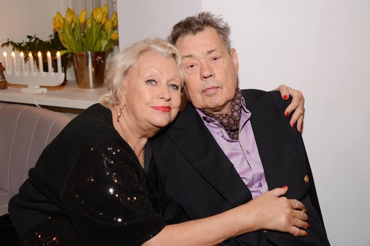 Николай Караченцов и его жена Людмила Поргина