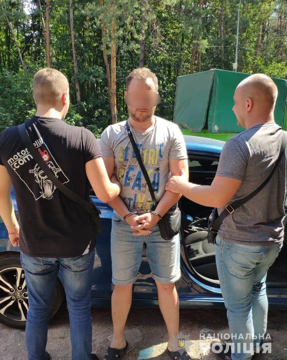Подозреваемого в совершении стрельбы на Киевщине задержали в столице