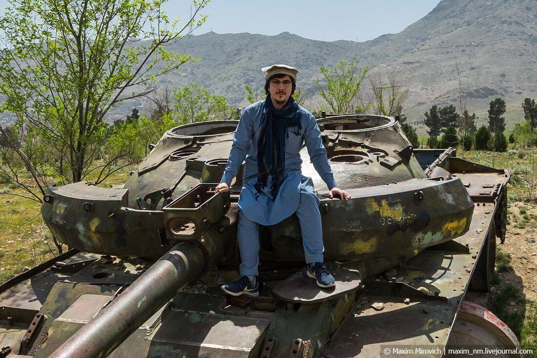 Максим Мирович в Афганістані
