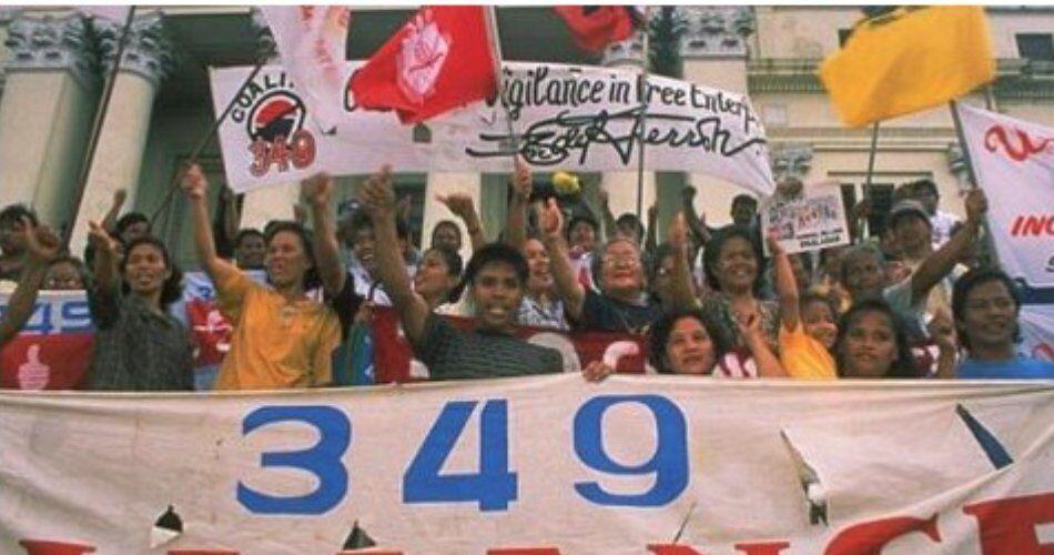 Протесты в Филиппинах из-за Pepsi