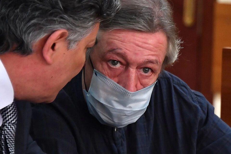 Ефремов и Пашаев во время заседания суда
