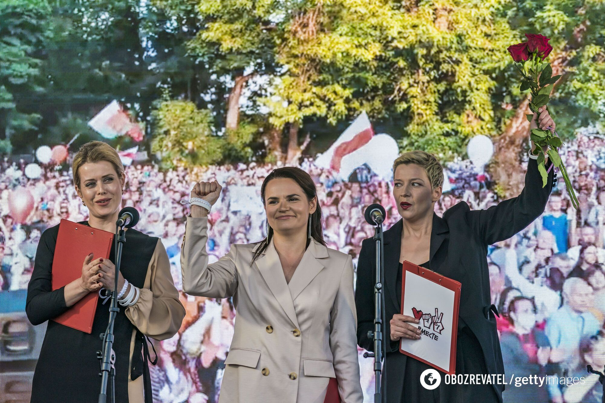 Светлана Тихановская считается главной соперницей Лукашенко на выборах президента
