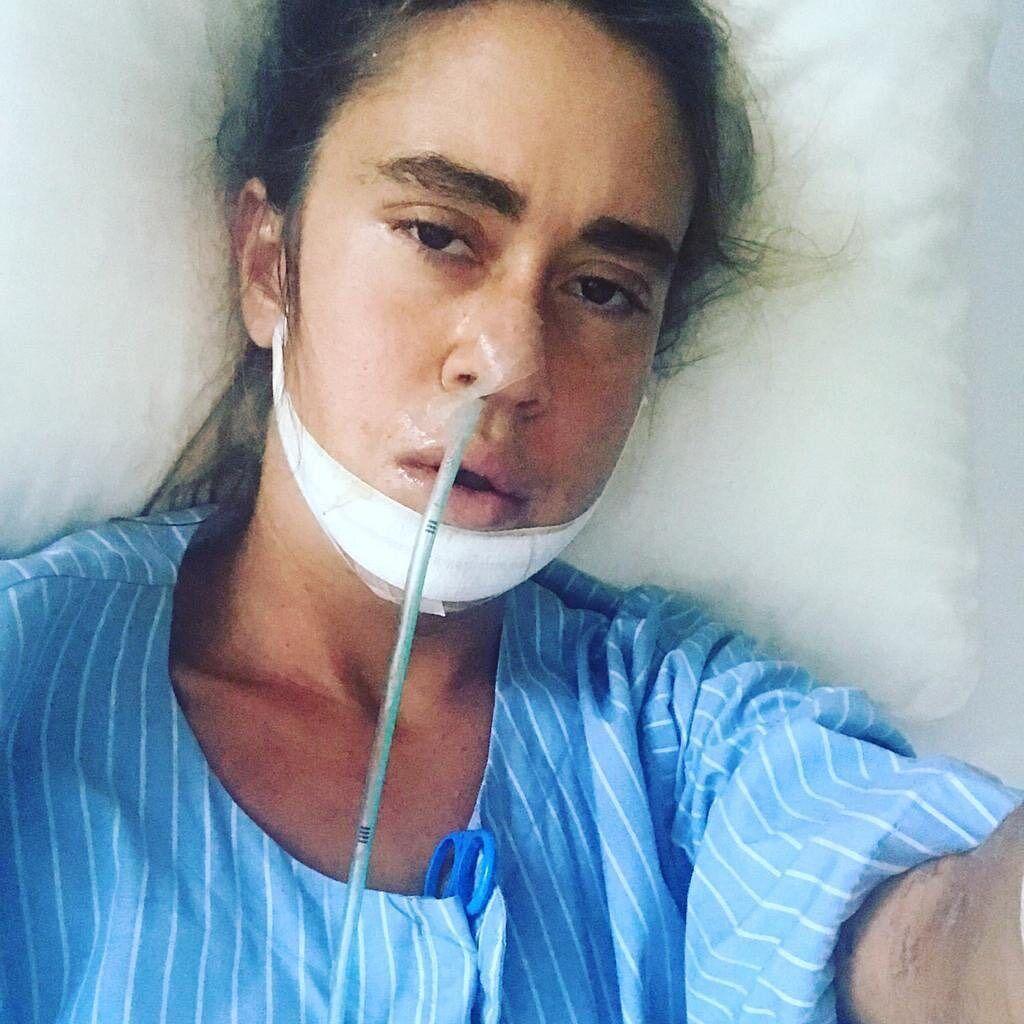 Дочь Успенской показала лицо после аварии (Instagram Татьяны Плаксиной)