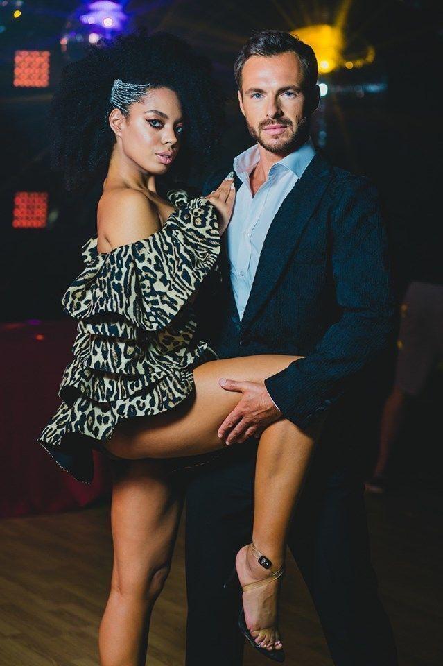 Аделіна Делі і Сергій Мельник (фото – tsn.ua)