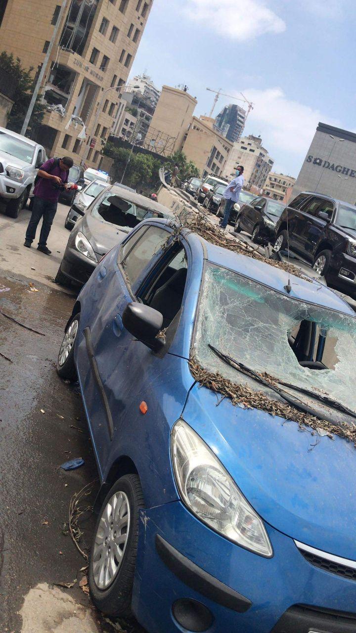 Наслідки вибухів в Бейруті.