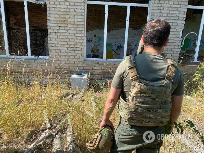Президент Зеленський на Донбасі