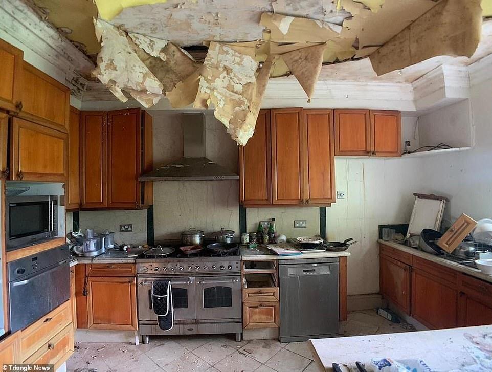 За 4 года состояние дома ухудшилось.