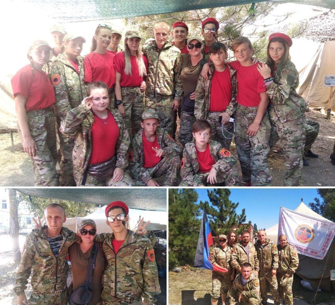 """Детей нарядили в форму военизированной организации """"Юнармии"""""""