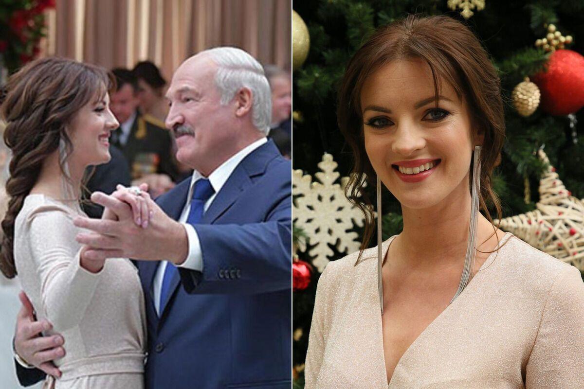 Полина Шуба и Александр Лукашенко (коллаж)