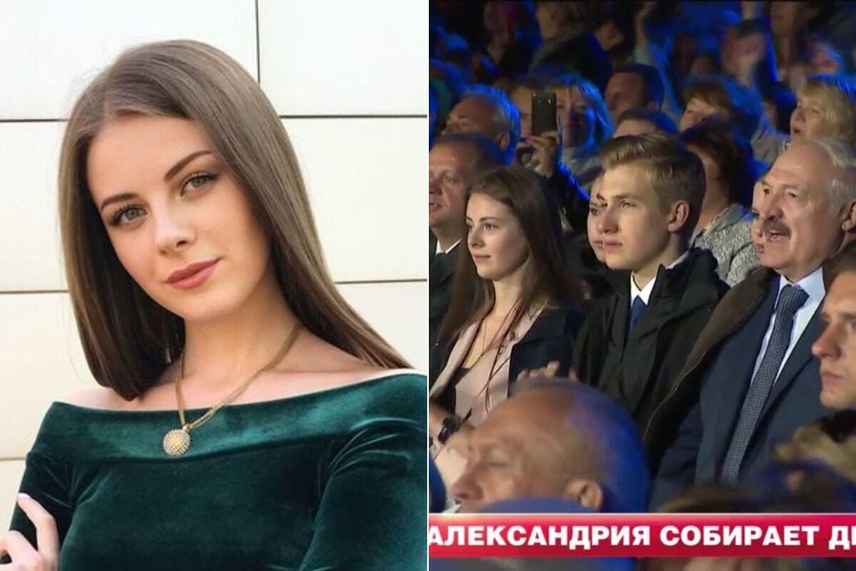 Алина Роскач, Николай и Александр Лукашенко (коллаж)