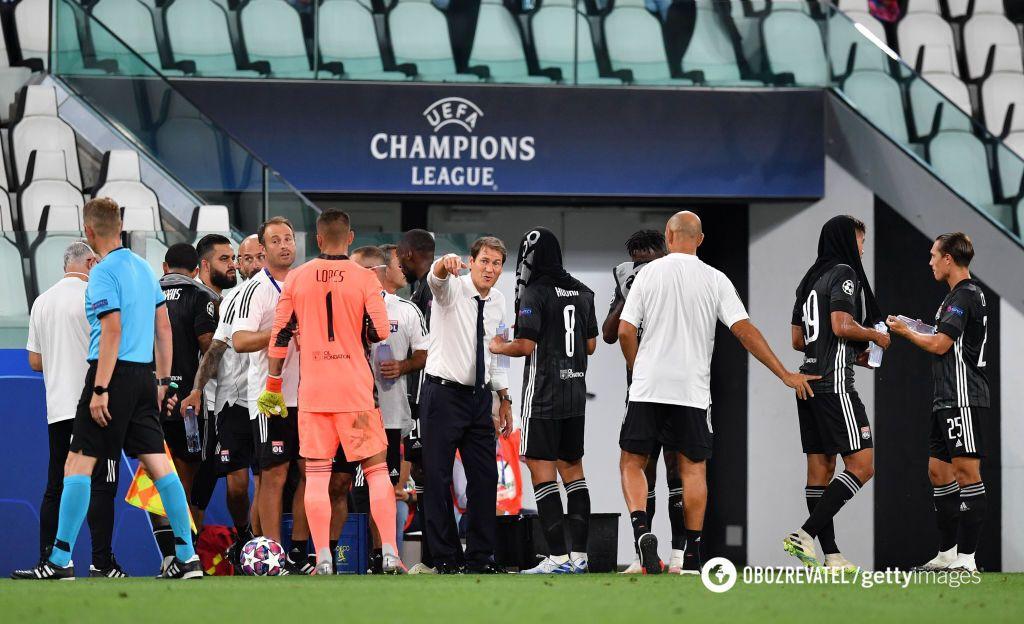Матч в Турине прошел без зрителей