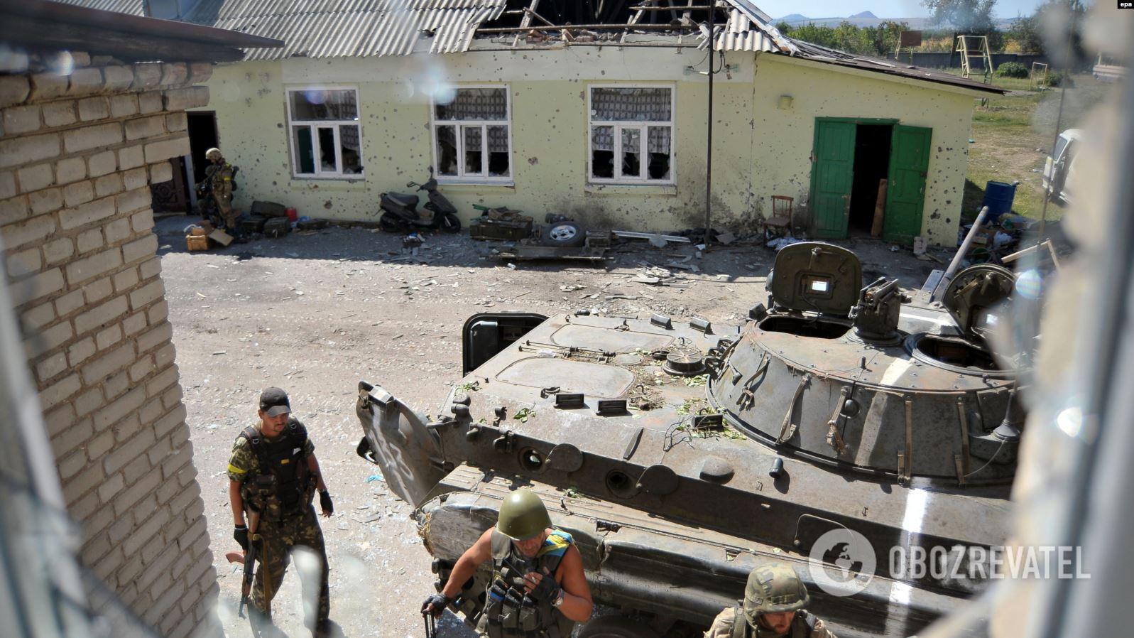28 серпня українські військові опинилися в оточенні в Іловайську