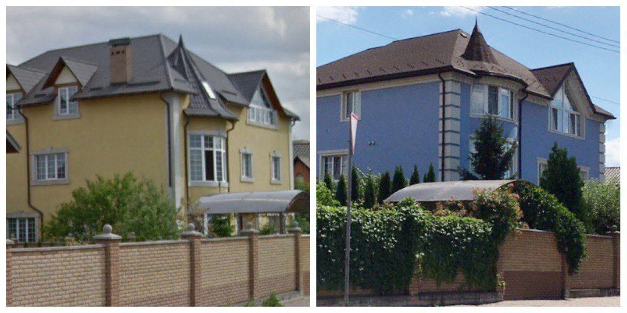 Дом Разумкова до и после ремонта