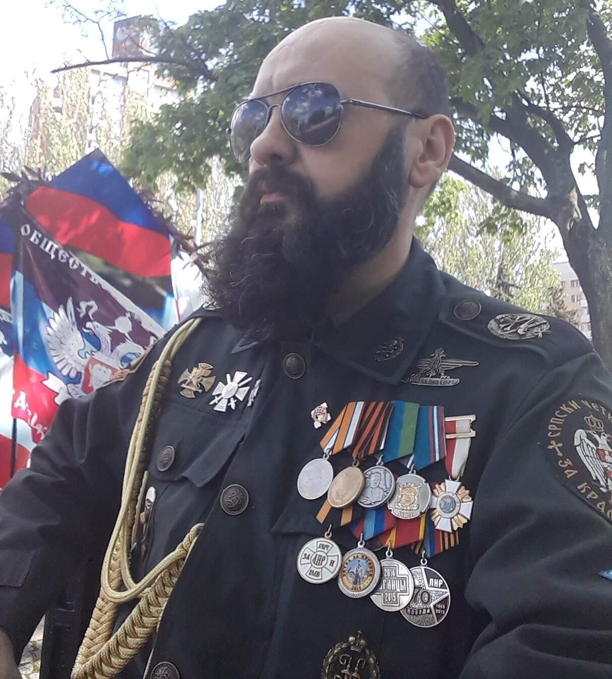 Сербский наемник Братислав Живкович