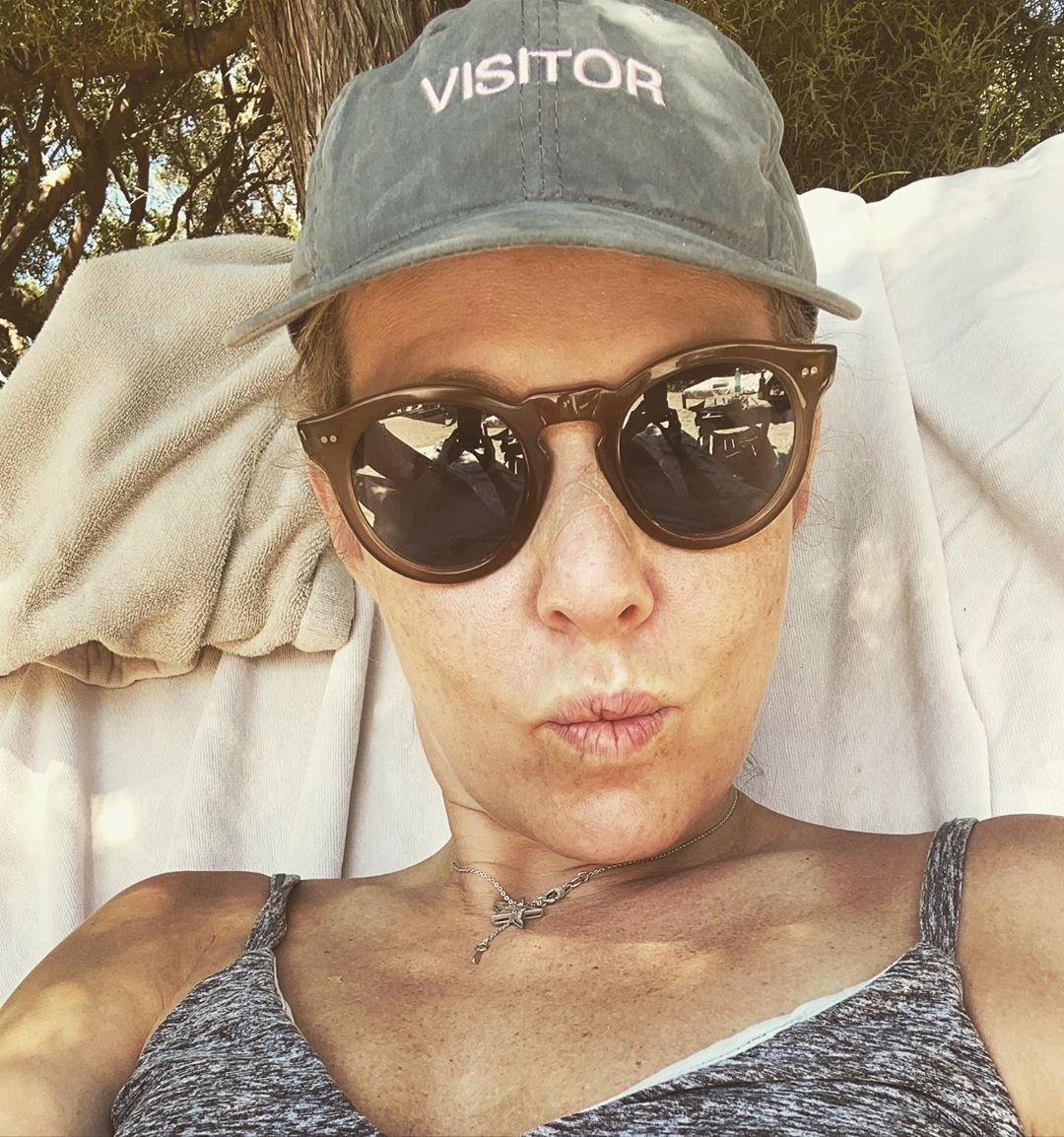 Собчак показала лицо без макияжа (Instagram Ксении Собчак)