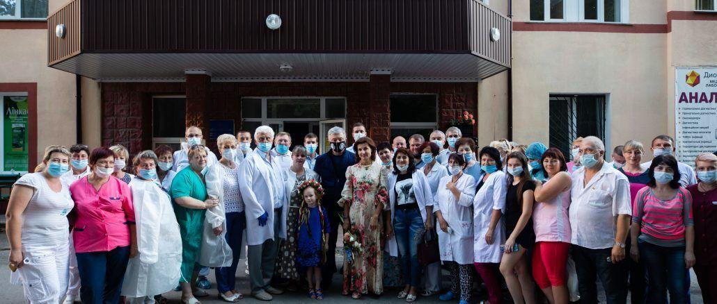 Порошенко приїхав у лікарню Вінниці