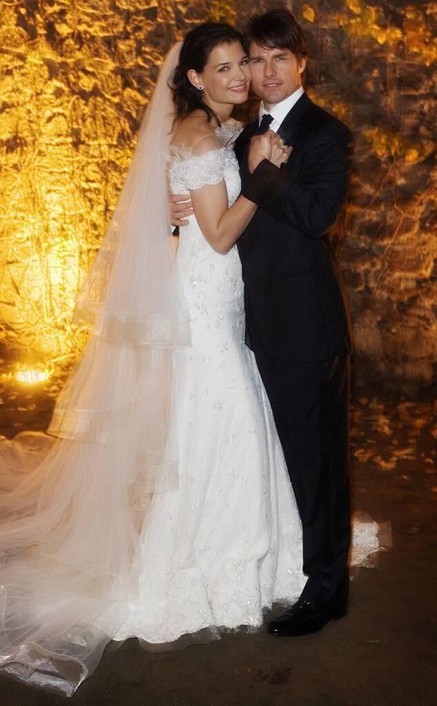 Весілля Тома Круза і Кеті Холмс (фото – eonline.com)