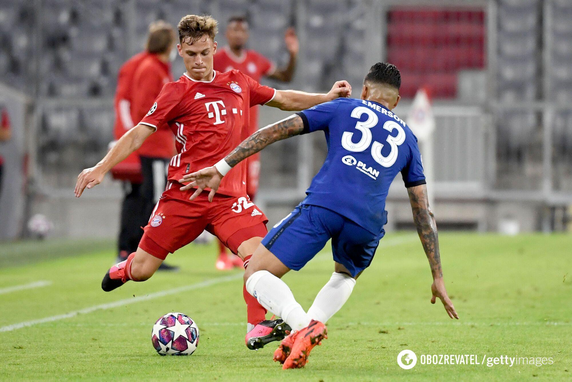 Бавария забила два мяча