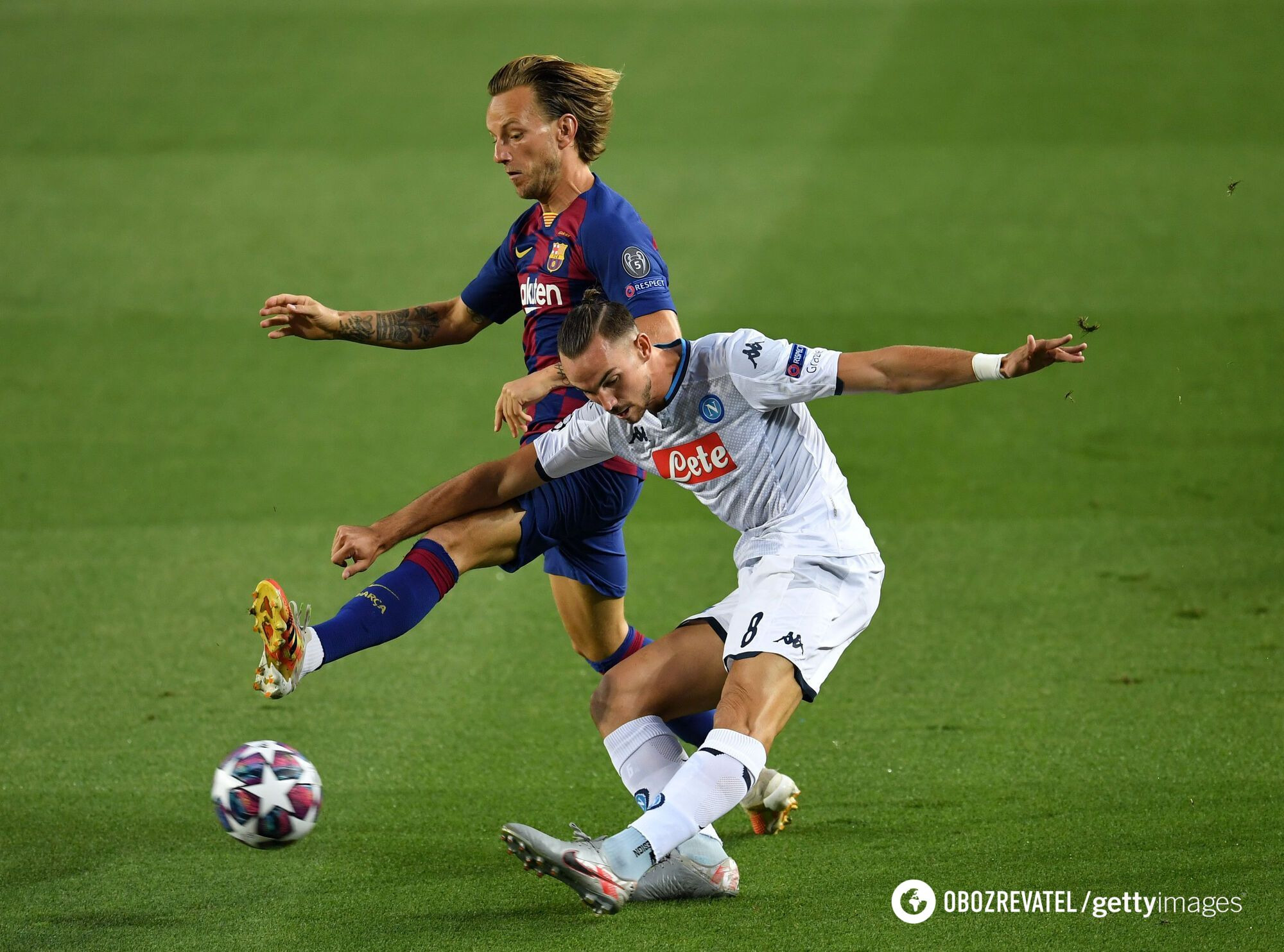 Барселона контролировала ход игры