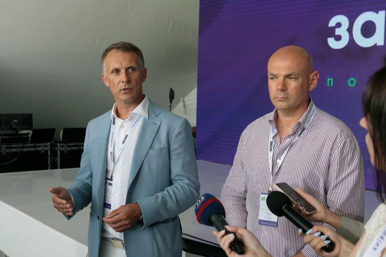 Слева направо: Ярослав Москаленко, Игорь Палица