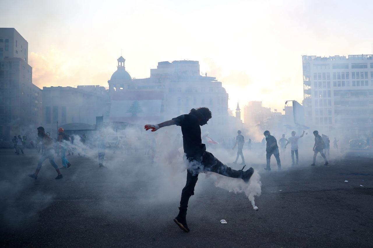 Протести в Бейруті