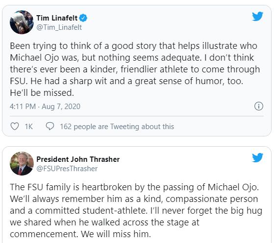 Реакция на смерть Оджо в интернете