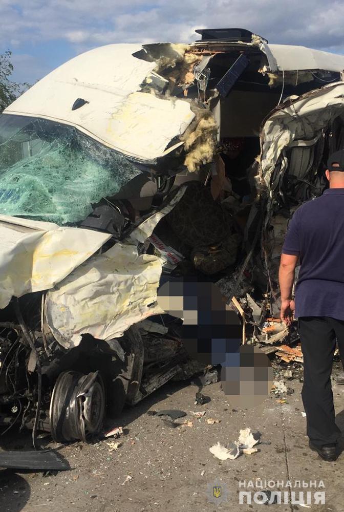 Маршрутка, в якій загинули водій і троє пасажирів
