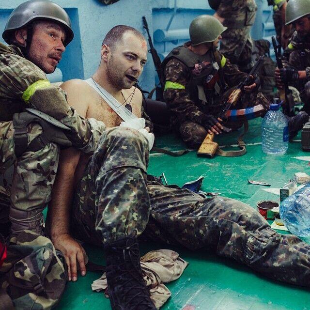 Кількість поранених під час боїв за Іловайськ бійців української армії офіційно перевищила 400 людей