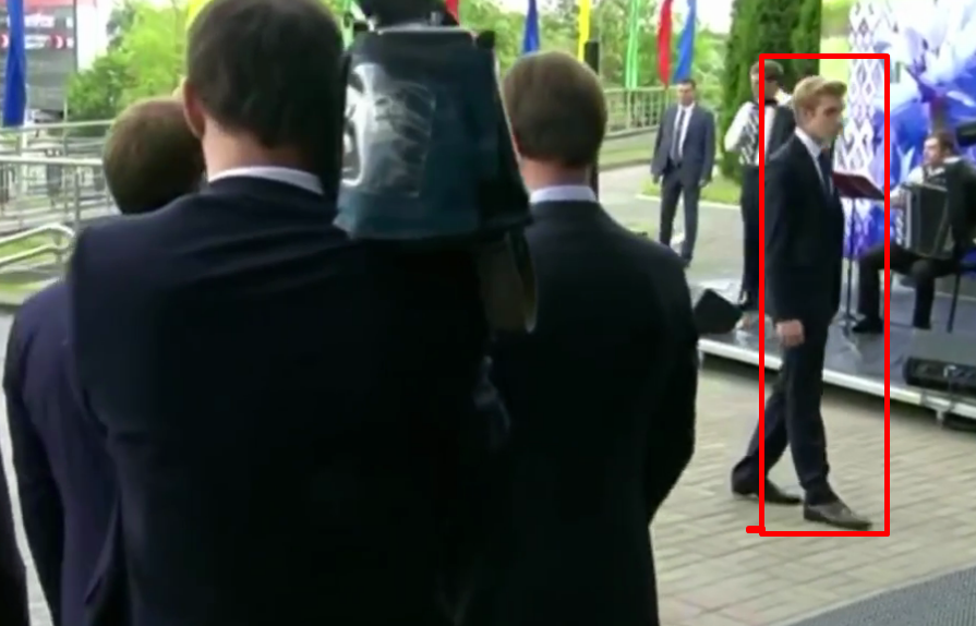 На выборы с Лукашенко приехал его сын Коля