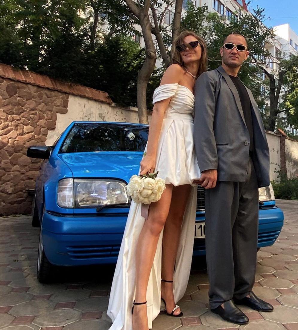 Бердаш одружився з українською моделлю