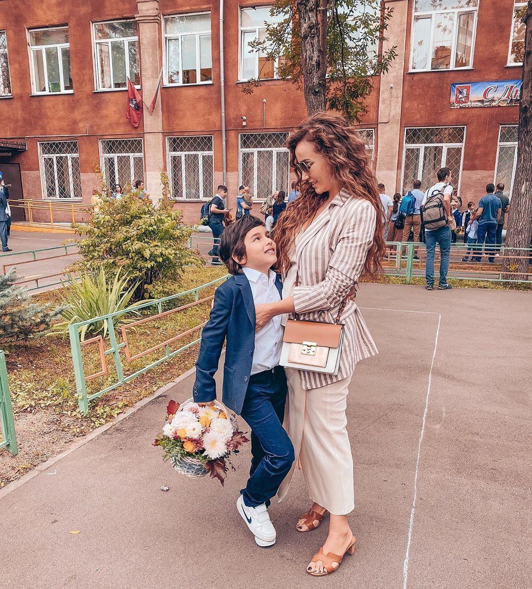 Анфиса Чехова с сыном Соломоном (Instagram Анфисы Чеховой)