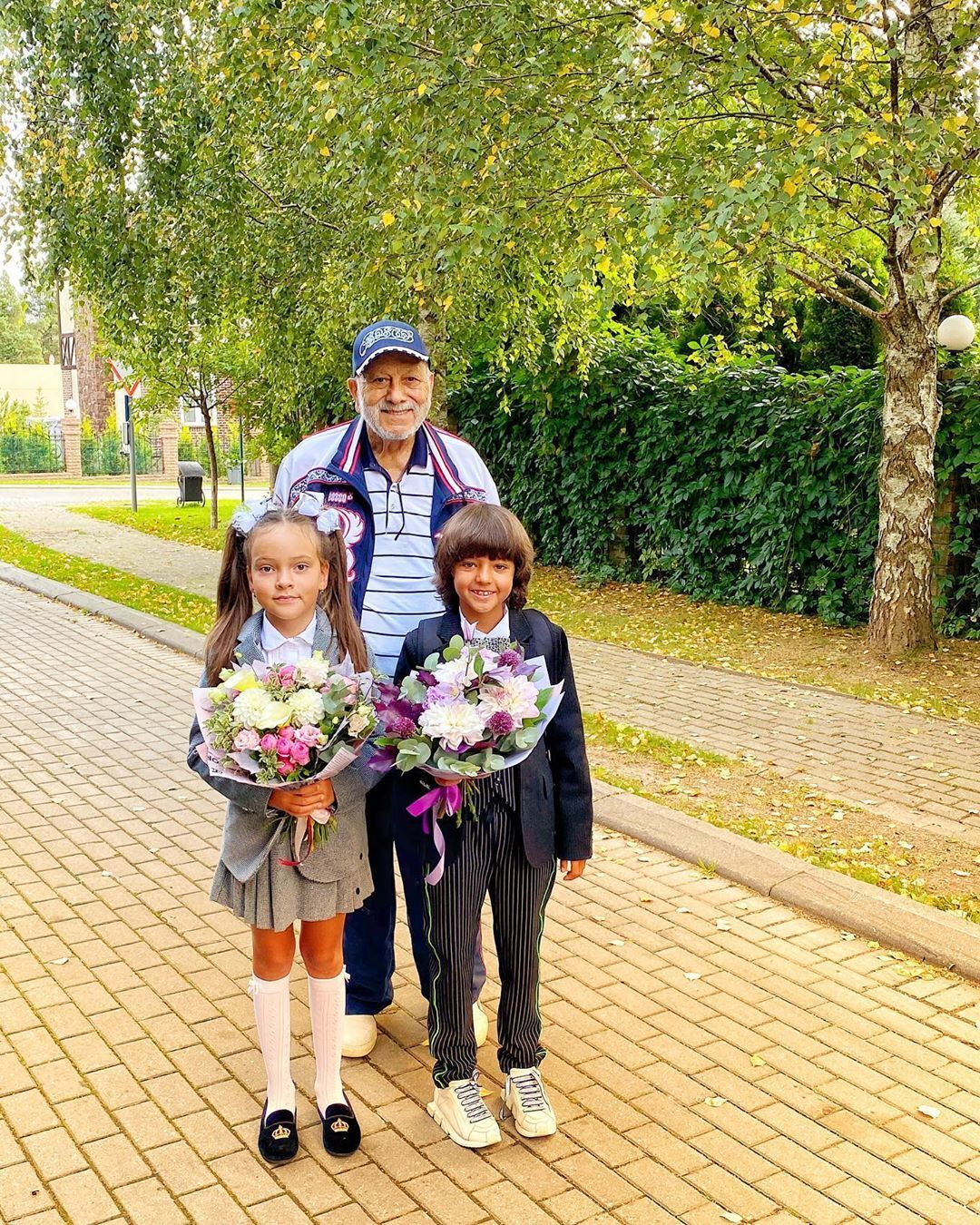 Дети Киркорова и его отец (Instagram Филиппа Киркорова)