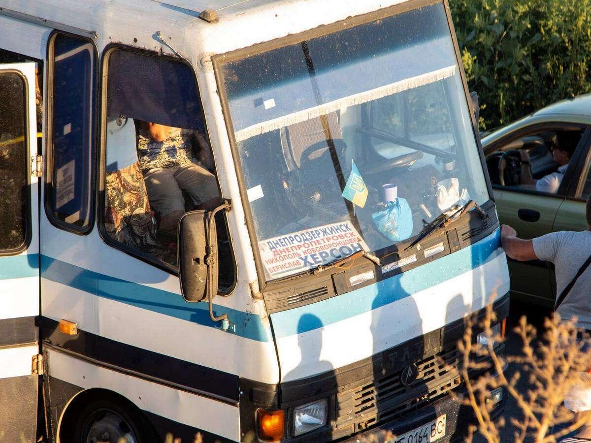 Автобус следовал по маршруту Каменское – Херсон.