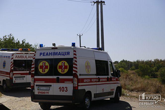 Медики надавали потерпілим допомогу на місці ДТП.