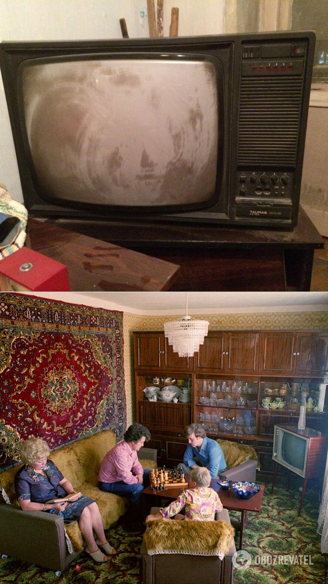 Телевизор был предметом роскоши в СССР