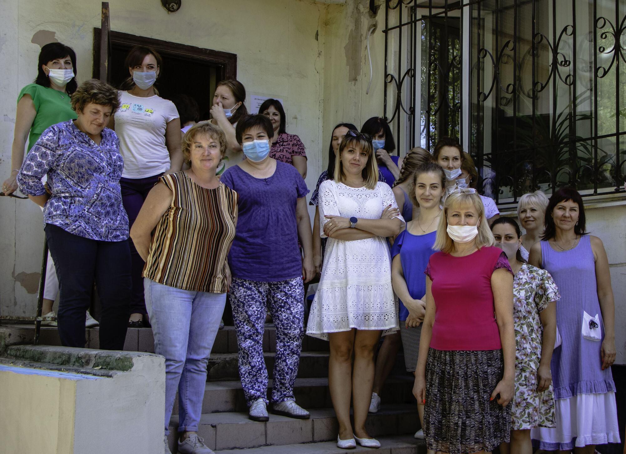Левобережное управления социальной защиты в Днепре получило новое оборудование
