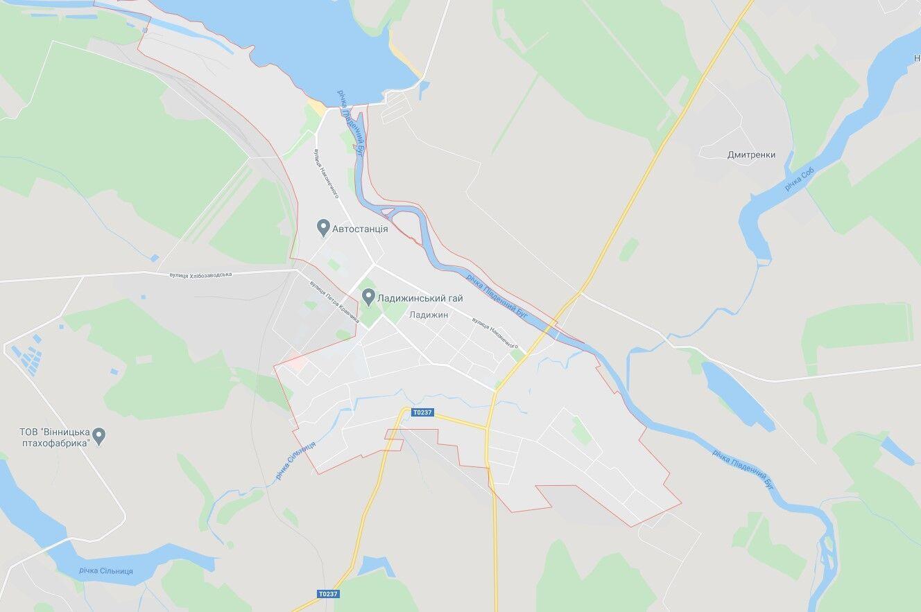 ДТП трапилася в місті Ладижин.